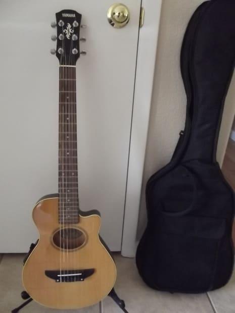 Yamaha Apxt 1n Cut Out Acoustic Electric Guitar Soft