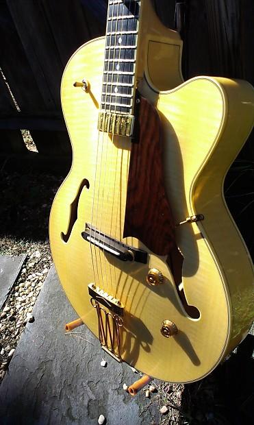 yamaha aex 1500 archtop guitar blonde mij martin taylor reverb. Black Bedroom Furniture Sets. Home Design Ideas