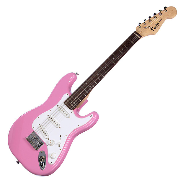 squier mini strat 3 4 scale fender stratocaster kid reverb. Black Bedroom Furniture Sets. Home Design Ideas
