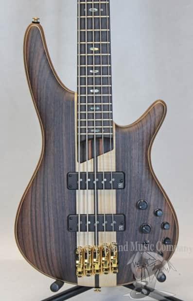 ibanez sdgr 1805e premium 5 string electric bass guitar flat reverb. Black Bedroom Furniture Sets. Home Design Ideas