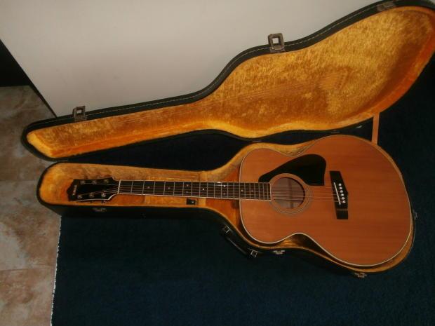 vintage 1980 39 s yamaha cj 818 jumbo acoustic guitar w case reverb. Black Bedroom Furniture Sets. Home Design Ideas