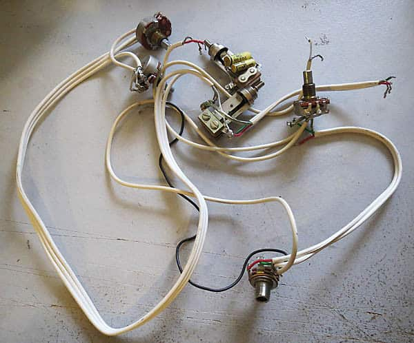 Gretsch original wiring harness reverb