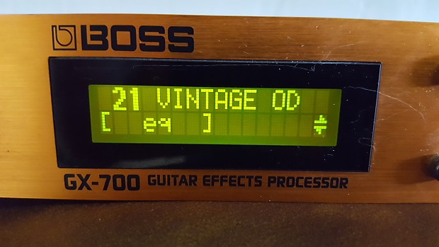 boss gx 700 guitar effects processor reverb. Black Bedroom Furniture Sets. Home Design Ideas