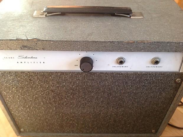 Vintage Sears Silvertone 1470 tube amp | Reverb