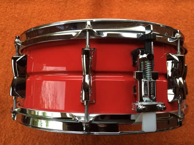 Yamaha kabuto 14 x5 5 steel snare drum reverb for Yamaha stage custom steel snare drum 14x6 5
