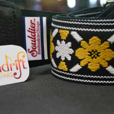 """New! Souldier Strap """"Tulip"""" USA Handmade Guitar Strap Free Shipping image"""