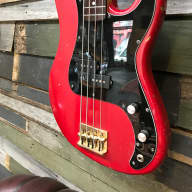 Cimar by Ibanez  P Bass Style 80's Vintage Red