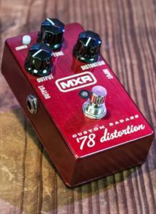 MXR Custom Badass '78 Distortion  2015 Red image