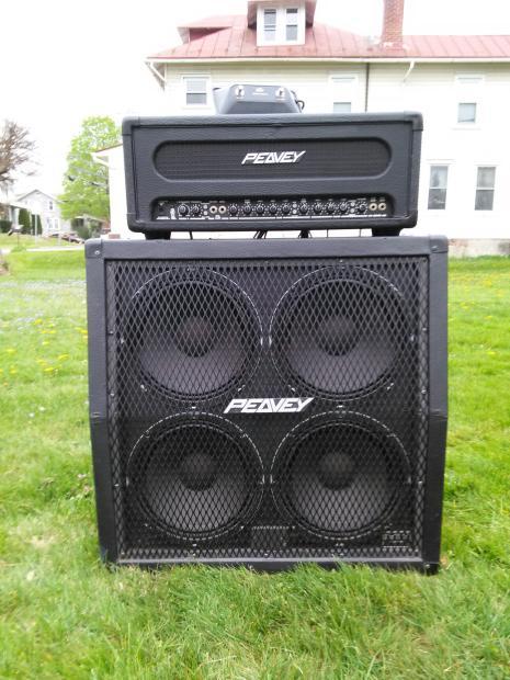 peavey supreme transtube 100 watt 3 ch head s 412ms 4x12 cabinet reverb. Black Bedroom Furniture Sets. Home Design Ideas