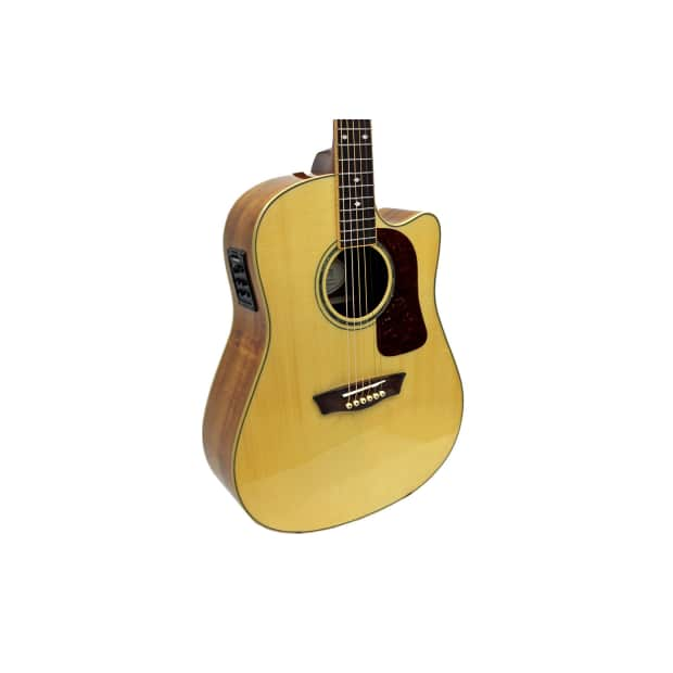 b stock washburn wsj50sce acoustic electric guitar with case reverb. Black Bedroom Furniture Sets. Home Design Ideas