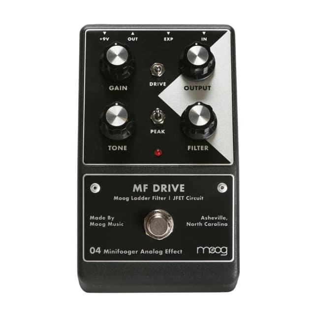 Moog Minifooger MF Drive Overdrive Effects Pedal (New Design) image