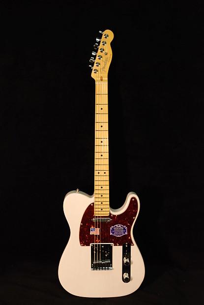 Fender American Deluxe Ash Telecaster White Blonde 2015 ...