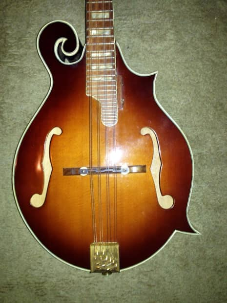 Vintage 1970's Hondo Gibson f4 mandolin clone   Reverb