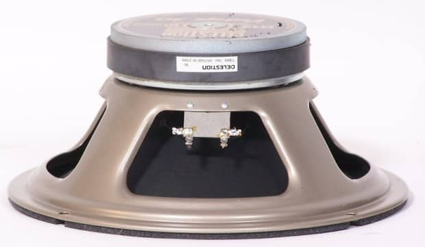 Speaker Ohm Matching To Amp : Celestion g ohms speakers matching pair