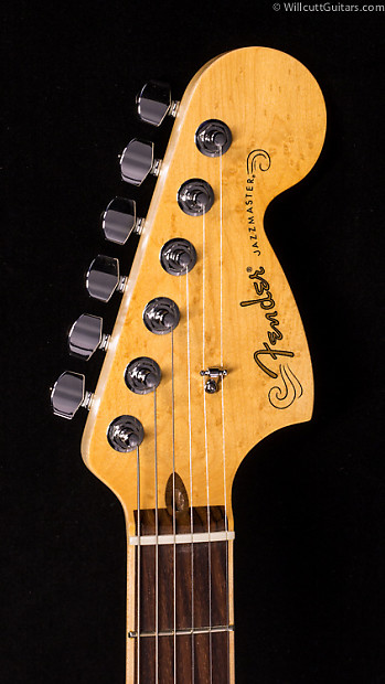 Fender select carved maple top jazzmaster hh cayenne