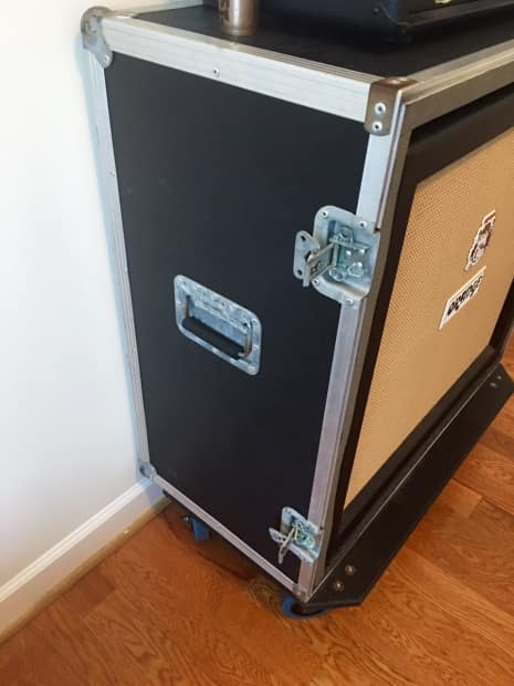 Live In Road Case For 4x12 Cabinet Reverb