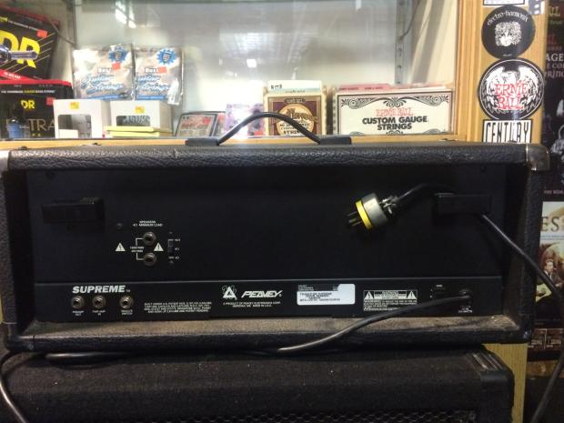peavey transtube supreme 100 watt guitar amplifier head reverb. Black Bedroom Furniture Sets. Home Design Ideas