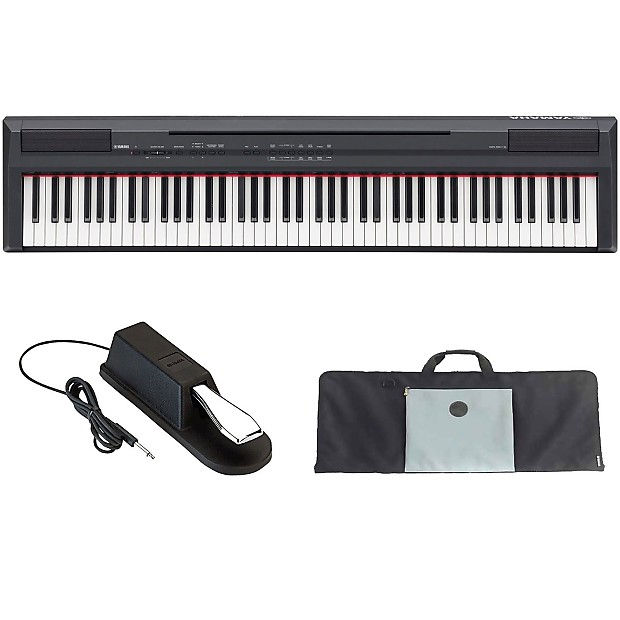 yamaha p series p105b 88 key digital piano with 88 key