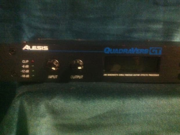 Alesis quadraverb gt manual