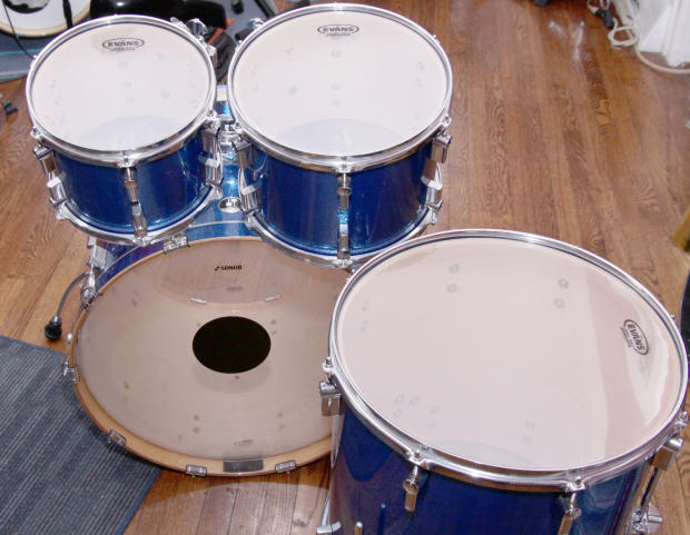 Sonor Force 3007 Maple Special Edition 2012 Blue Metallic