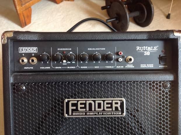 fender rumble 30 bass amp biyang rv 8 reverb pedal boss reverb. Black Bedroom Furniture Sets. Home Design Ideas