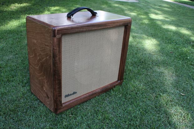 B Custom Cabs 1x12 Custom Guitar Speaker Cab Baltic Birch