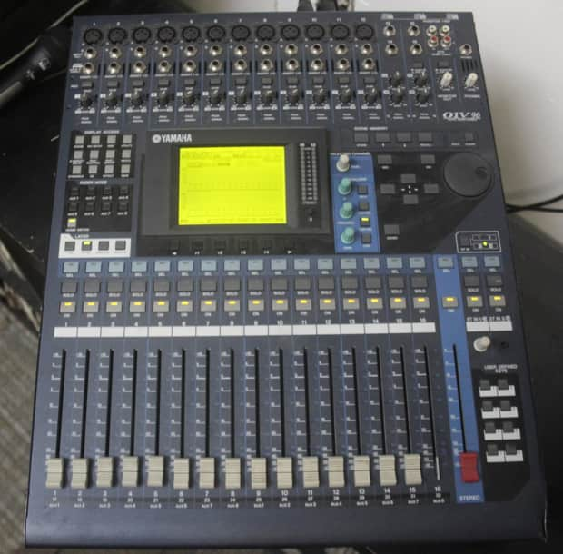 Yamaha 01v96 digital mixing console reverb for Yamaha digital console