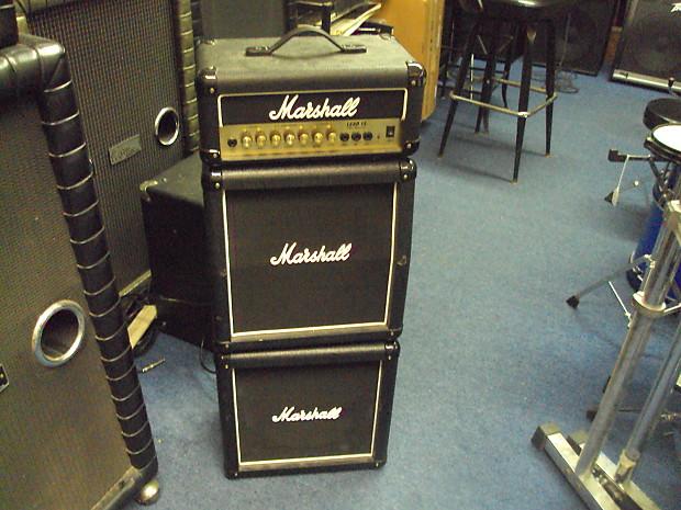 marshall mini stack lead 15 g15ms black guitar amp reverb. Black Bedroom Furniture Sets. Home Design Ideas