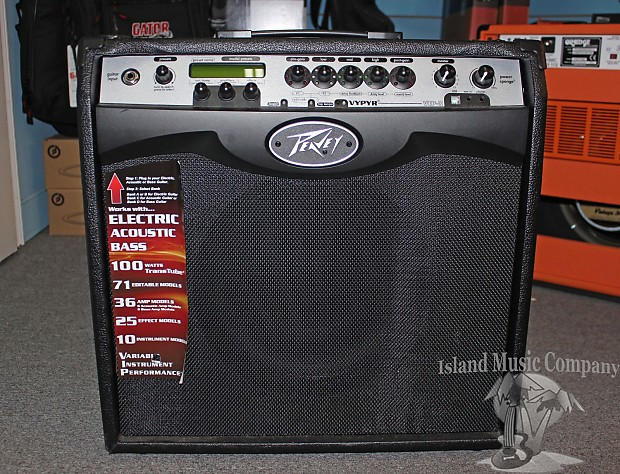 peavey vypyr vip 3 1x12 100 watt modeling guitar combo reverb. Black Bedroom Furniture Sets. Home Design Ideas
