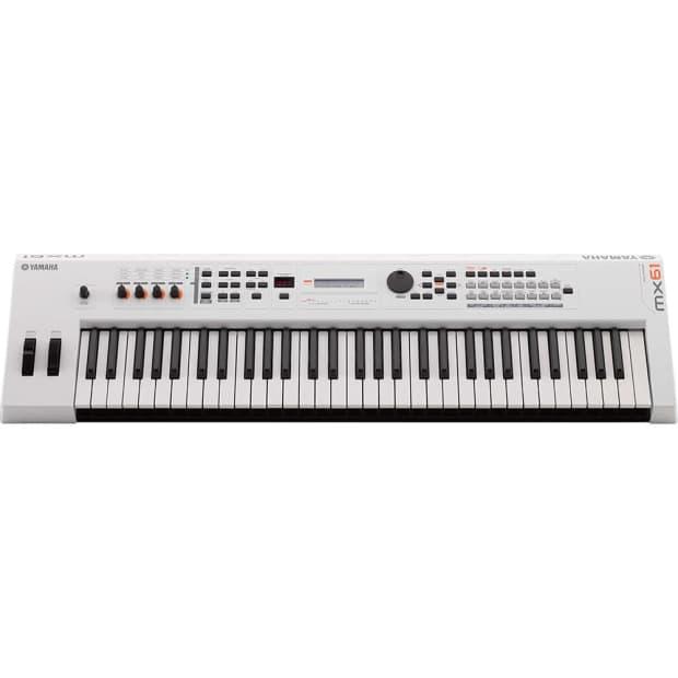 Yamaha mx61 wh 61 key usb midi keyboard synthesizer reverb for Yamaha midi controller keyboard