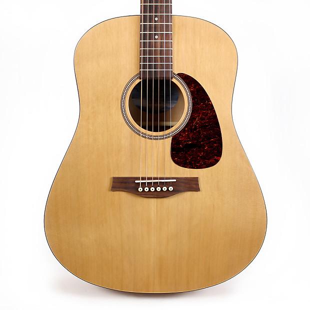 seagull s6 cedar top original acoustic guitar with case. Black Bedroom Furniture Sets. Home Design Ideas