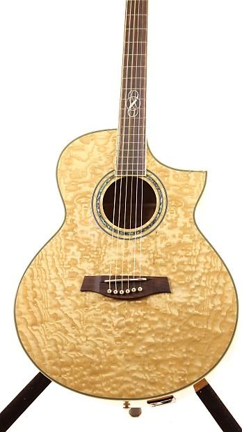 Ibanez Ew20ase Exotic Wood Ash Acoustic Electric Guitar
