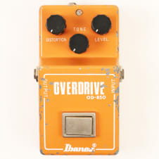 1980 Ibanez OD-850 Overdrive Pedal - Very Nice, All Original Example, Sounds Great image