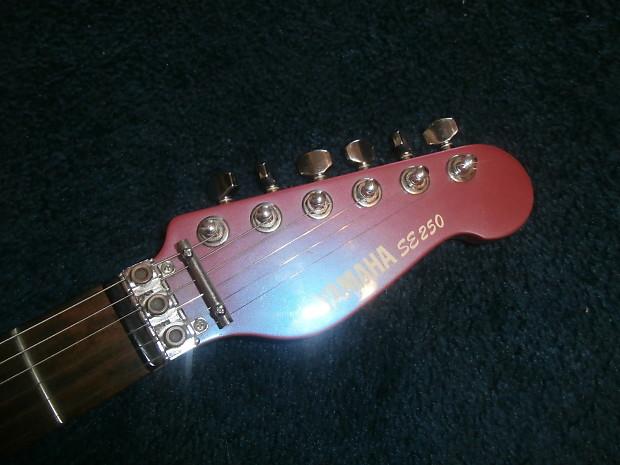 vintage 1980 39 s yamaha se 250 electric guitar pink purple reverb. Black Bedroom Furniture Sets. Home Design Ideas