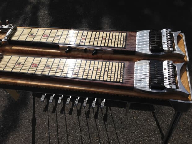 Metal Pedal Case : Z b d pedal steel and case reverb