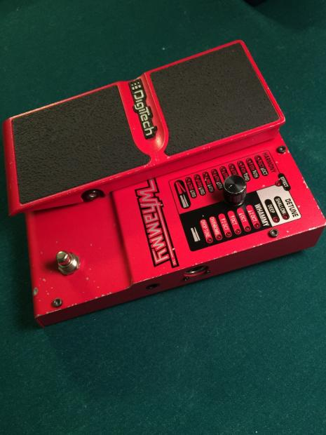 digitech whammy 4 red with power adapter reverb. Black Bedroom Furniture Sets. Home Design Ideas
