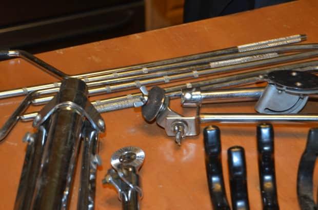 vintage ludwig gretsch drum parts chrome reverb. Black Bedroom Furniture Sets. Home Design Ideas