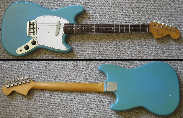 vintage 1965 fender musicmaster ii 24 scale electric guitar reverb. Black Bedroom Furniture Sets. Home Design Ideas