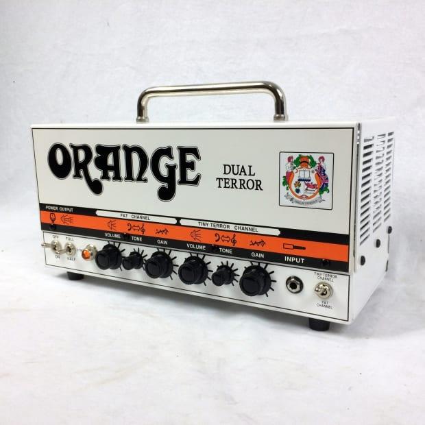 orange amplifiers dual terror dt30h 30w tube guitar amp head reverb. Black Bedroom Furniture Sets. Home Design Ideas