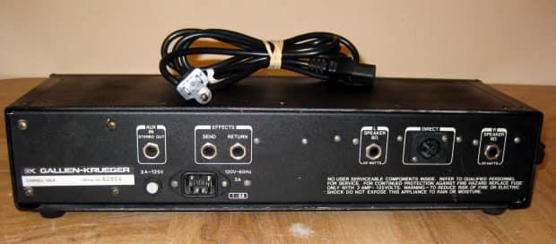 gallien krueger 250rl stereo guitar amp head reverb. Black Bedroom Furniture Sets. Home Design Ideas