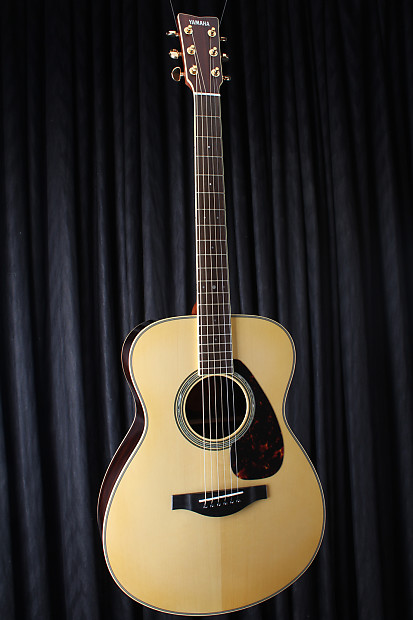 Yamaha ls6r l series acoustic electric guitar are with for Yamaha l series guitars