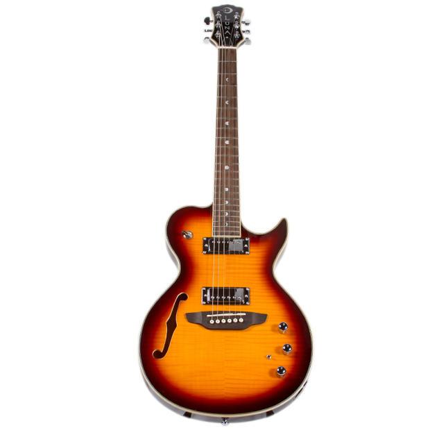 luna guitars athena hybrid acoustic electric guitar tobacco burst reverb. Black Bedroom Furniture Sets. Home Design Ideas