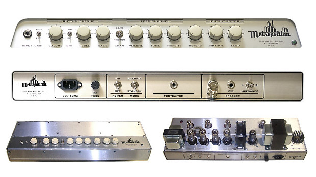Tone King Metropolitan Amplifier In Black Reverb