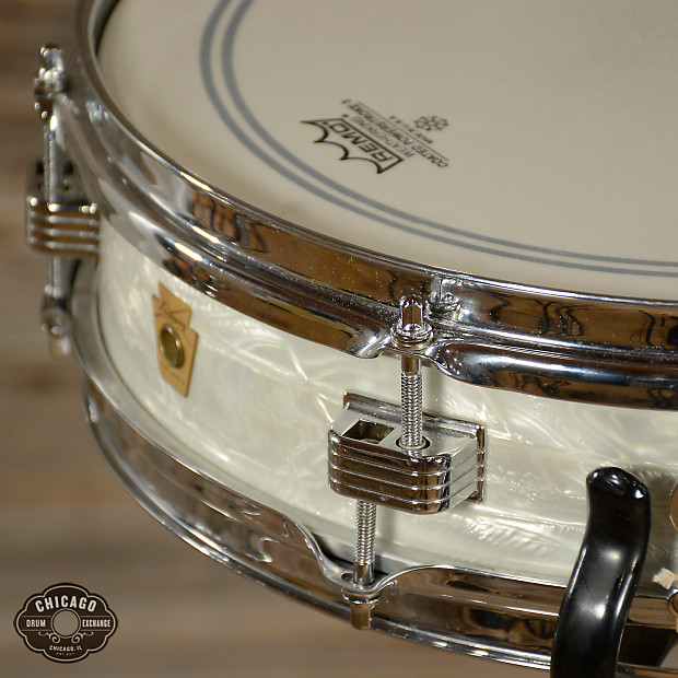 ludwig 3x13 pre serial jazz combo snare drum white marine reverb. Black Bedroom Furniture Sets. Home Design Ideas