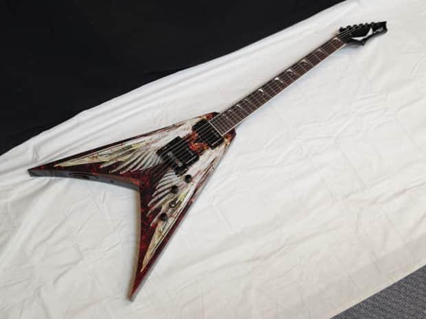 dean dave mustaine signature v vmnt aod angel of deth guitar reverb. Black Bedroom Furniture Sets. Home Design Ideas