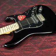 <p>Fender American Special Stratocaster HSS Maple Fingerboard Electric Guitar  2015 Black</p>  for sale