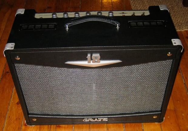 crate v18 212 combo guitar amplifier reverb. Black Bedroom Furniture Sets. Home Design Ideas