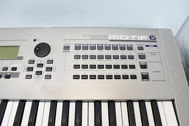 Yamaha motif 6 synth sequencer and more classic for Yamaha motif keyboard