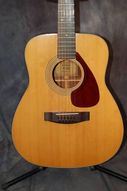 yamaha fg 260 nippon gakki 12 string guitar plays great pro reverb. Black Bedroom Furniture Sets. Home Design Ideas