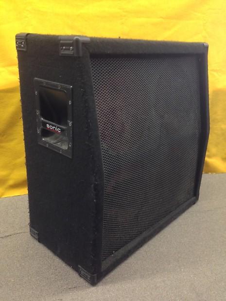 sonic empty 4x12 guitar speaker cabinet local pickup reverb. Black Bedroom Furniture Sets. Home Design Ideas